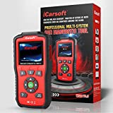 iCarsoft Auto Diagnostic Scanner W500 V1.0 for Audi/VW/Seat/Skoda with ABS Scan,Oil Service Reset ect