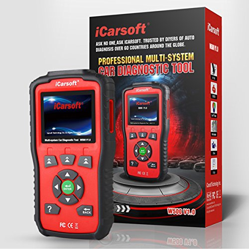 iCarsoft Auto Diagnostic Scanner W500 V1.0 for Audi/VW/Seat/Skoda with ABS Scan,Oil Service Reset ect by iCarsoft (Image #8)