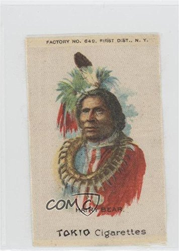 Card) 1910 ATC Indian Chiefs Silks - Tobacco S67 - Tokio Factory 649 1st Dist NY #HABA (Chief Silk)