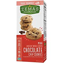 Zemas Madhouse Mini Chocolate Chip Gluten Free Cookies, Dairy-Free, Top 8 Allergen-Free, 30 Count Box