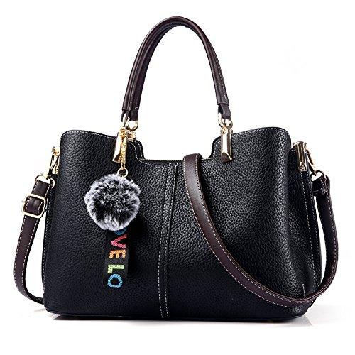 Dhfud Crossbody Bag Crossbody Bag Pu Black Women