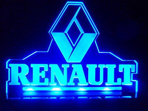 The Man Cave Sports Bar Reno : Renault car logo led lamp night light man cave room game