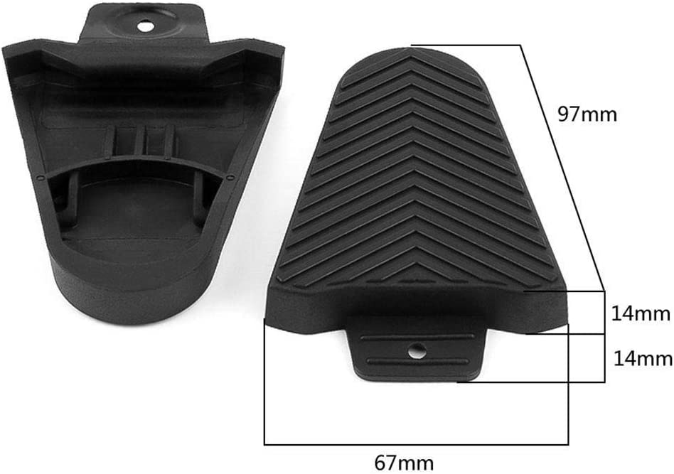 1 Pair Quick Release Rubber Cleat Cover Bike Pedal Cleats Covers for SPD-SL
