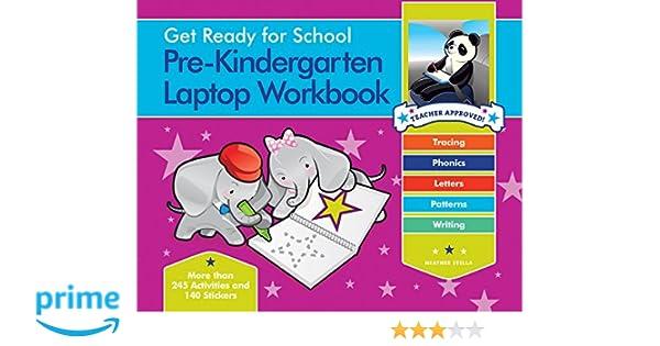 Amazon.com: Get Ready for School Pre-Kindergarten Laptop Workbook ...