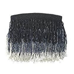 Sienna Beaded Fringe Clutch