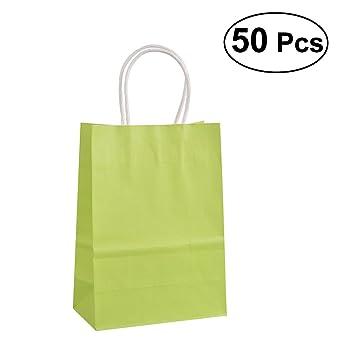 TOYMYTOY Bolsas de papel reciclables de la bolsa del regalo ...