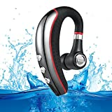 Bluetooth Headset, Aumo Wireless Business Bluetooth 4.1 Earpiece with Microphone Lightweight and Noise