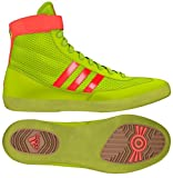 Adidas Combat Speed 4 Youth Wrestling Shoes Solar Yellow/Solar Red Size 4