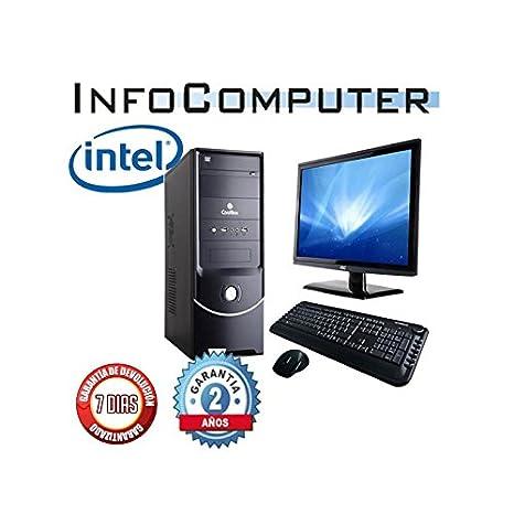 Ordenador barato nuevo INTEL I7 4770 3,4 GHZ, 8GB 1TERA DVDRW, MONITOR LCD 19Ž TECLADO Y RATON REGALO: Amazon.es: Informática