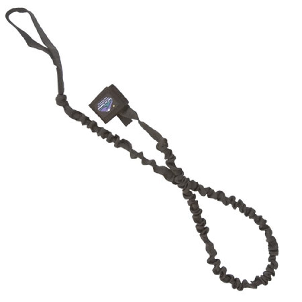 Surf To Summit Bungee Paddle Leash, Black, 6-Feet by Surf To Summit (Image #1)
