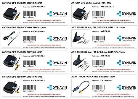 Antena 5m GPS variedad de modelos. ANT-GPS.MCX.9