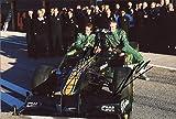 Jarno Trulli & Heikki Kovalainen F1 Jaguar autographs, IP signed photo