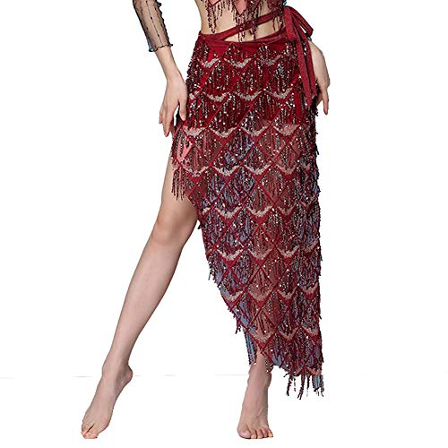 MUNAFIE Hip Scarf for Belly Dance Folk Dance