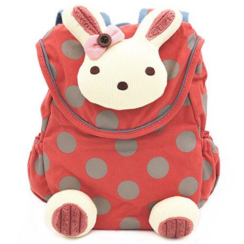 3D Cute Animal Design Baby Toddler Backpack Children Toddler School Bag  Backpack Cartoon Rabbit Anti-lost Kids Book Backpack for Kindergarten  Preschool ... 150542726f641
