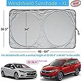 Windshield Sun Shade Universal Sunshades for Car Suv Truck Minivan Front Window