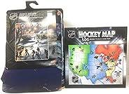 Bundle - NHL Blanket Fleece Sherpa Throw & NHL Hockey Pu