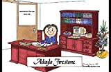 Personalized Friendly Folks Cartoon Side Slide Frame Gift: Executive - Female Great for professional, president, ceo, cfo, controller, business owner, principal, manager