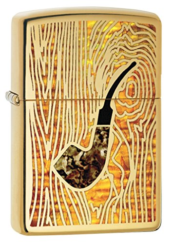 Zippo Pipe Lighter: Fusion Pipe - High Polish Brass 78213