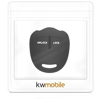 Amazon.com: kwmobile Car Key Cover for Mitsubishi - Silicone ...