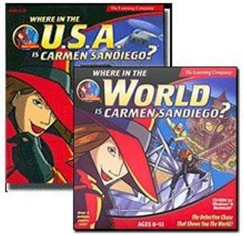 B000E6HBKC Where in the World & USA is Carmen SanDiego 51hyfCZmUmL