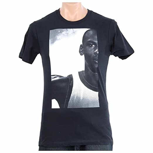 size 40 f0bed d63db NIke Men s Jordan Wings Photo Tee, 632310-010 (Black White, Large