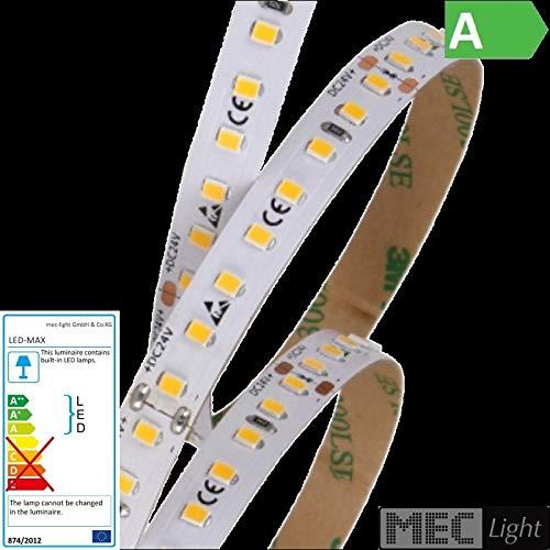 4000K 1m LED Stripe 112x SMD2835//m 2000Lm 24V 10W//m Ra=80 neutral-wei/ß tageslicht IP66 wasserschutz extra hell