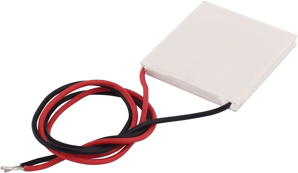 uxcell/® TEC1-12703 3A 12V 27W 40x40x4mm Thermoelectric Cooler Peltier Plate Module