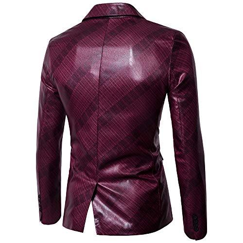 Et Fashion Manteau Hommes Rouge De Veste Wwricotta Sweatshirts Longues À Américain Costumes Manches Cardigan Couture H4tqUwnx