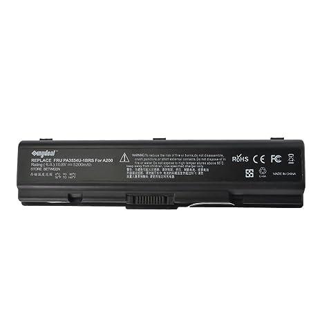 Sunydeal Batería para Ordenador Portátil Toshiba, 10.8V, 4400mAh, para Toshiba Dynabook ,Toshiba Equium, Toshiba Satellite,Toshiba Dynabook AX Serien, ...