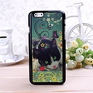 Pretty Cat Pictures of 3D models Pattern phone Case For Apple 5s.7