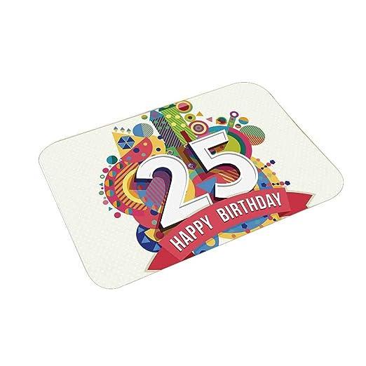 YOLIYANA 30 cumpleaños decoraciones Multi función Floor Mat ...