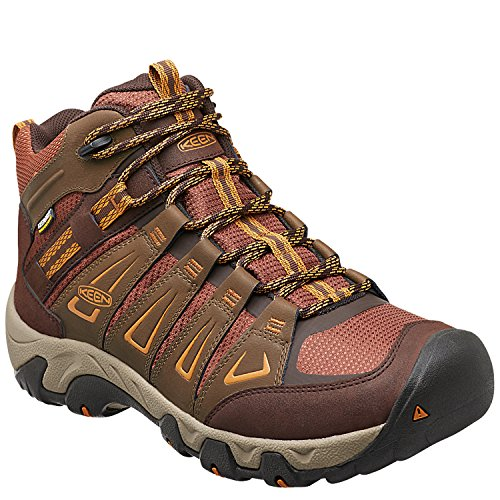 Keen Tortoise Oakridge Boots Mid Men's WP Hiking Shell Dark Polar Earth SUqSZr