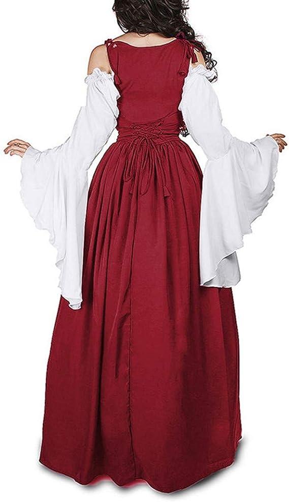 Vestidos De Fiesta Gótico Mujeres Vestidos Medieval Vestidos ...