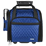 Travelon Wheeled Underseat Carry-On Bag 14'' - eBags Exclusive (Royal Blue
