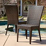 Outdoor Wicker Side Chair Home Loft Concept Edward (Set of 2)