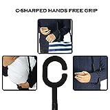 Hippih-Inverted-Umbrella-Double-Layer-Windproof-Protection-SunRain-folding-UmbrellasBlack-YS002