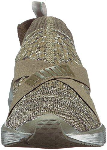 Night Wn Sneaker Fierce Olive Donna Evoknit Puma puma Wn Metallic Silver Y8IwdgxqH