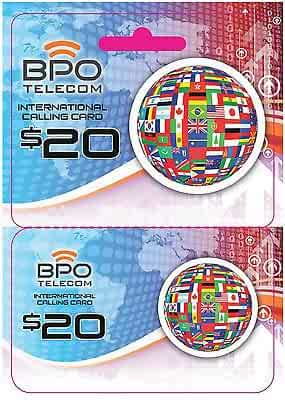 $20 Call to Mexico Rechargeable International Calling Card No Hidden Fees