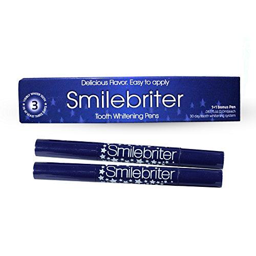 Smilebriter Teeth Whitening Gel Pens 60 Day Supply