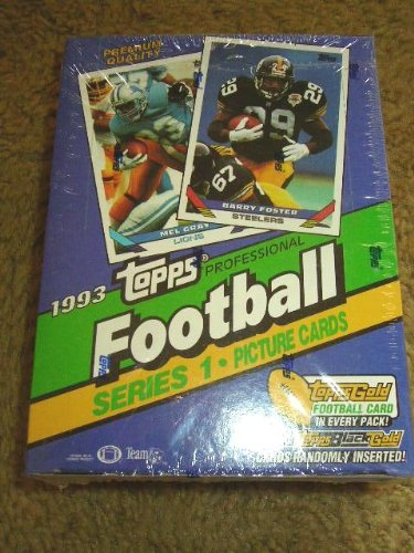 1993 Topps Football Series 1 Box - Factory-Sealed - Possible Bettis Rookie Card