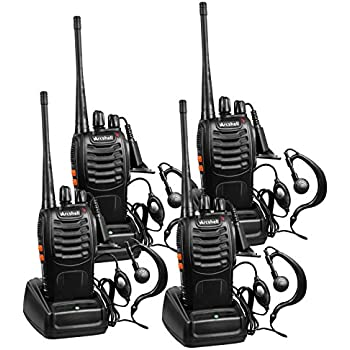 Amazon Com Arcshell Rechargeable Long Range Two Way Radios With