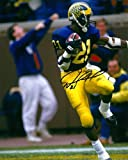 Desmond Howard Michigan Heisman Autographed Signed 8 x10 Photo - COA - Mint Condition