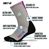 Premium Hiking Socks by Thirty48 :: Cushioned