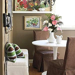 GTIDEA 20Pcs Fake PU Calla Lily Artificial Flowers Bride Wedding Bouquet for Table Centerpieces Arrangements Home DIY Garden Office Decor (Pink) 5