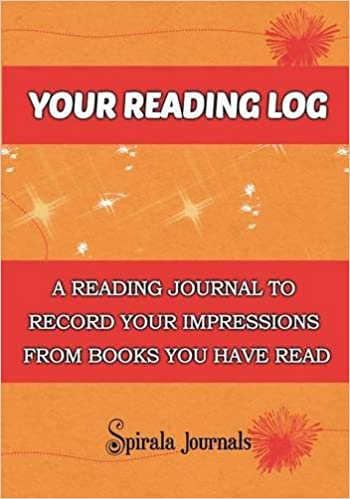 Your Reading Log A Reading Journal To Record Your Impressions From