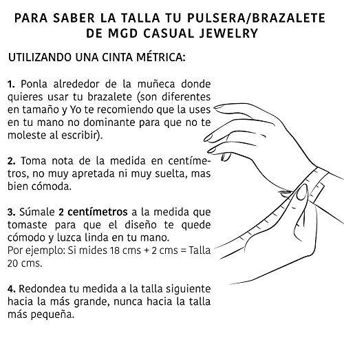 Amazon.com: Venezolana Pulsera De Plata con Dije Mapa Venezuela Talla Ajustable Mediana - Grande Esclava Plata: Handmade