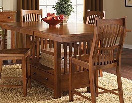 Kitchen Gathering Table Amazon laurelhurst 72 rectangular gathering table cognac oak laurelhurst 72quot rectangular gathering table cognac oak workwithnaturefo