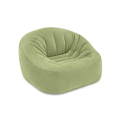 Intex Beanless Bag Club Chair, Inflatable Chair, 49  X 47  X 30