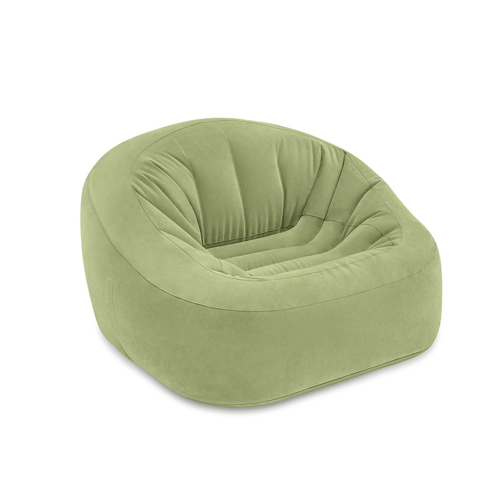 Intex Beanless Bag Club Chair, Inflatable Chair, 49'' X 47'' X 30''