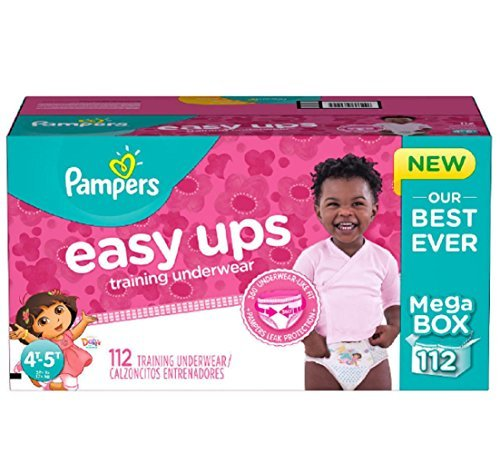 Pampers Easy Ups Dora the Explorer Training Underwear for Girls - 112 Count, New!!! by Gravitymystore